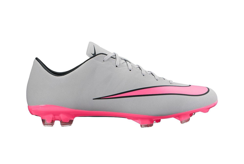 Nike Mercurial Veloce grijs roze | Voetbalschoenenoutlet