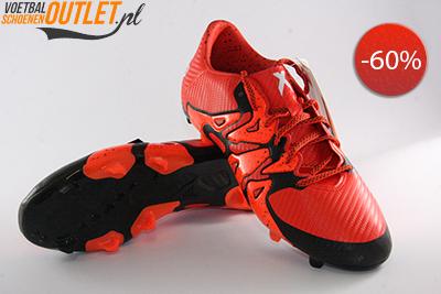 Adidas X 15.3 rood zwart voor- en onderkant (S83176)