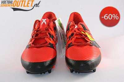 Adidas X 15.3 rood zwart voorkant (S83176)