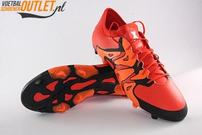 Adidas X15.1 rood zwart voor- en onderkant (S83148)