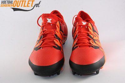 Adidas X15.1 rood zwart voorkant (S83148)