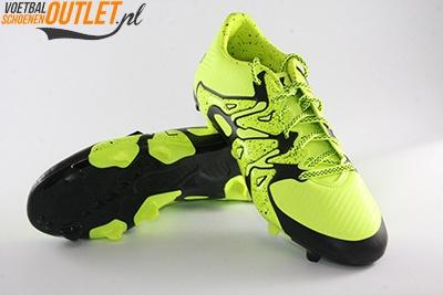 Adidas X15.3 geel zwart voor- en onderkant (B27001)