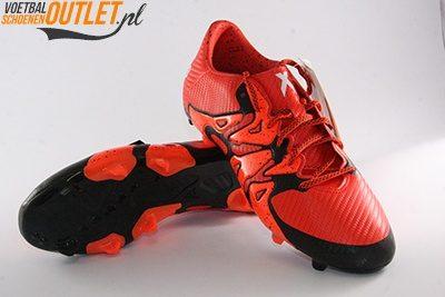 Adidas X15.3 rood zwart voor- en onderkant (S83176)