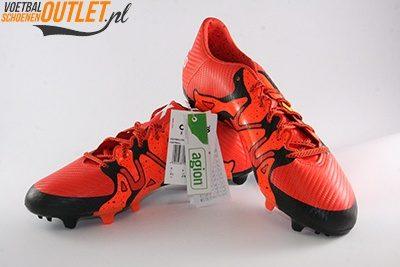 Adidas X15.3 rood zwart voor- en zijkant (S83176)