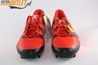 Adidas X15.3 rood zwart voorkant (S83176)