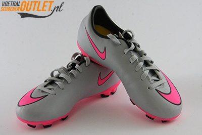 Nike Mercurial Veloce grijs roze