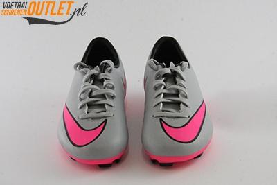 Nike Mercurial Veloce grijs roze voorkant(651618-060)