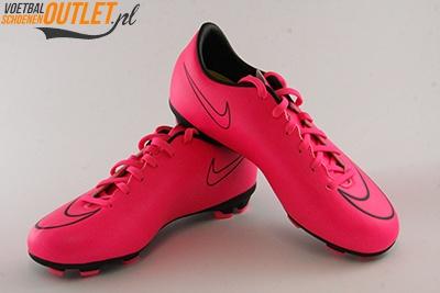Nike Mercurial Veloce roze voor- en zijkant(651618-660)