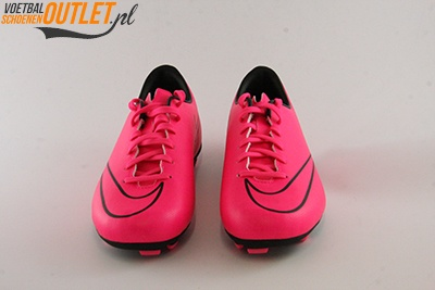 Nike Mercurial Veloce roze voorkant(651618-660)