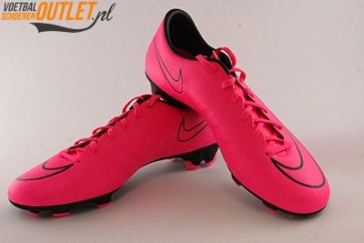 Nike Mercurial Victory roze voor- en zijkant(651632-660)