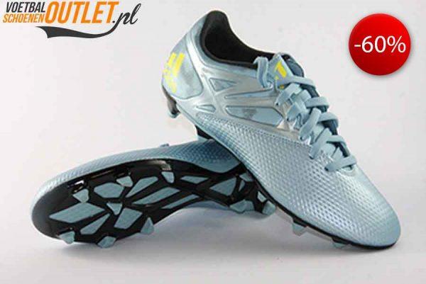 Adidas Messi 15.3 blauw voor- en onderkant (B26950)