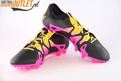 Adidas X 15.2 zwart roze