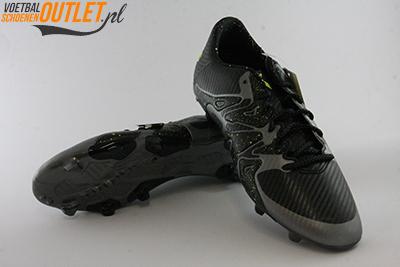 Adidas X 15.3 grijs zwart voor- en onderkant (B32771)