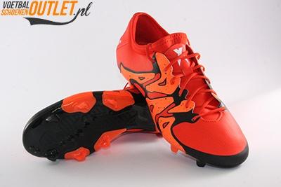 Adidas X15.2 rood zwart voor- en onderkant (S83195)