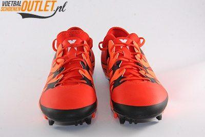 Adidas X15.2 rood zwart voorkant (S83195)