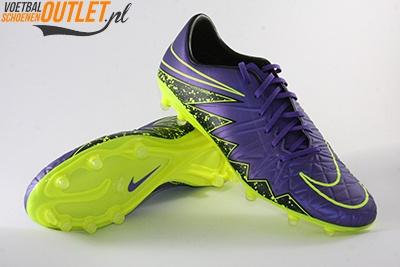 Nike Hypervenom Phatal paars voor- en onderkant (749893-550)