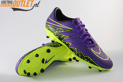 Nike Hypervenom Phelon paars en geel voor- en onderkant (749896-550)