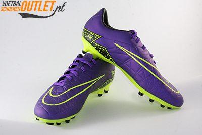Nike Hypervenom Phelon paars geel