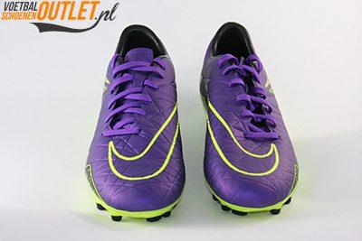Nike Hypervenom Phelon paars en geel voorkant (749896-550)