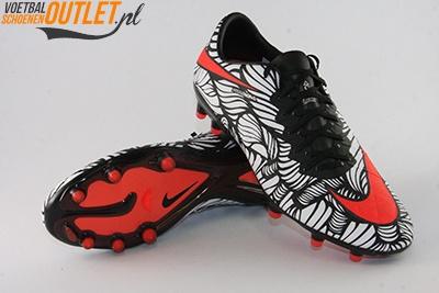 Nike Hypervenom Phinish Neymar wit zwart voor- en onderkant (820122-061)