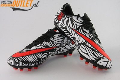 Nike Hypervenom Phinish Neymar wit zwart