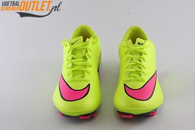 Nike Mercurial Veloce geel voorkant (651618-760)