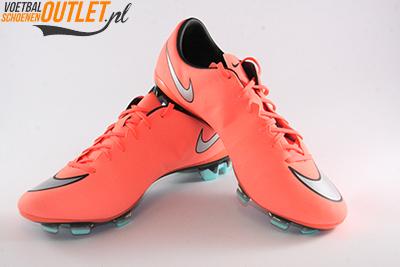Nike Mercurial Veloce zalm oranje voor- en zijkant (651618-803)