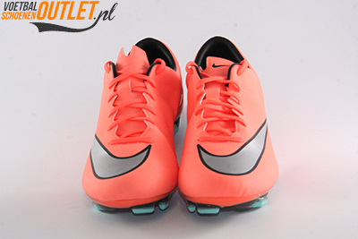 Nike Mercurial Veloce zalm oranje voorkant (651618-803)
