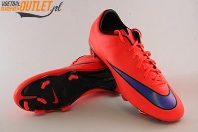 Nike Mercurial Veloce rood voor- en onderkant (651618-650)