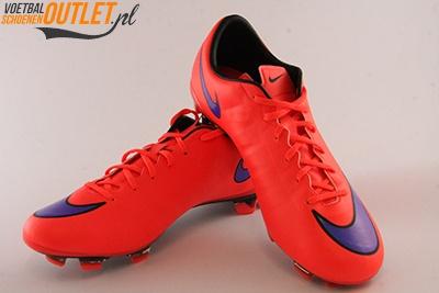 Nike Mercurial Veloce rood voor- en zijkant (651618-650)