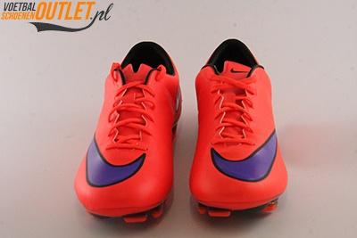 Nike Mercurial Veloce rood voorkant (651618-650)