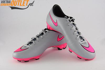 Nike Mercurial Victory grijs voor- en zijkant (651632-060)