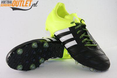Adidas Ace 15.2 zwart geel leer voor- en onderkant (B32800)