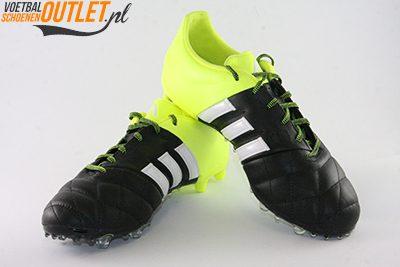 Adidas Ace 15.2 zwart geel leer