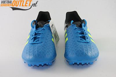 Adidas Ace 15.3 blauw zwart voorkant (B32848)