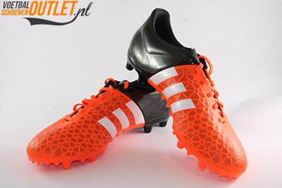 Adidas Ace 15.3 oranje zwart voor- en zijkant (S83243)