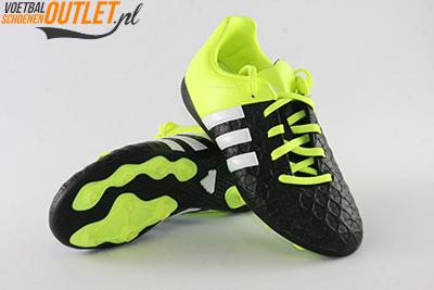 Adidas Ace 15.4 zwart geel kids voor- en onderkant (B32864)