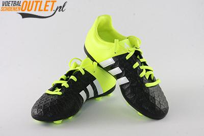 Adidas Ace 15.4 zwart geel kids voor- en zijkant (B32864)