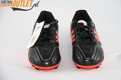 Adidas Adipure 11Questra zwart rood kids voorkant (G61797)