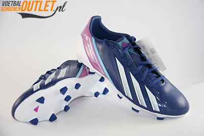 Adidas Adizero F10 blauw paars voor- en onderkant (G65349)