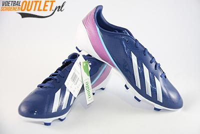 Adidas Adizero F10 blauw paars voor- en zijkant (G65349)