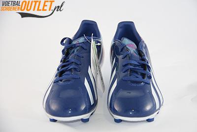 Adidas Adizero F10 blauw paars voorkant (G65349)