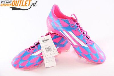 Adidas Adizero F10 blauw roze