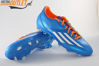 Adidas Adizero F10 blauw voor- en onderkant (D67146)