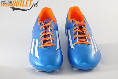 Adidas Adizero F10 blauw voorkant (D67146)