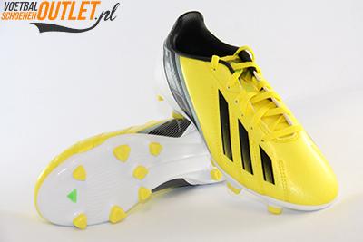 Adidas Adizero F10 geel kids voor- en onderkant (G65352)