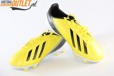 Adidas Adizero F10 geel kids voor- en zijkant (G65352)
