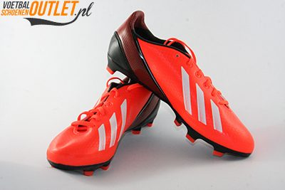 Adidas Adizero F10 rood zwart kids