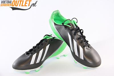 Adidas Adizero F30 zwart groen kids voor- en zijkant (G65390)