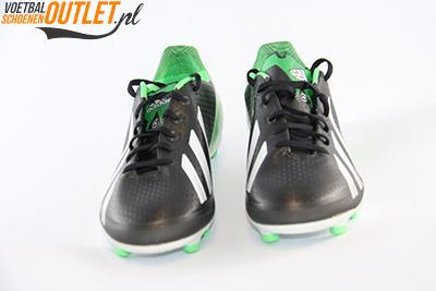 Adidas Adizero F30 zwart groen kids voorkant (G65390)